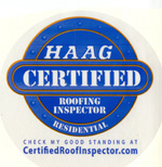 All Season Roof Repair in Fort Worth is a HAAG certified roofing inspector